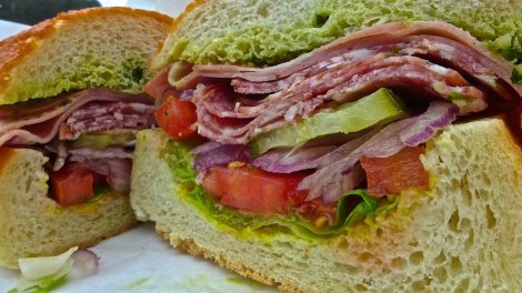 Little Lucca dutch crunch sandwich